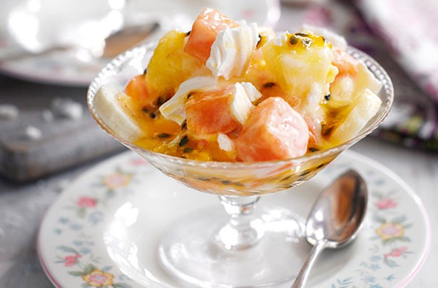 ... and dessert recipes - Slimming World's tropical Eton mess - goodtoknow