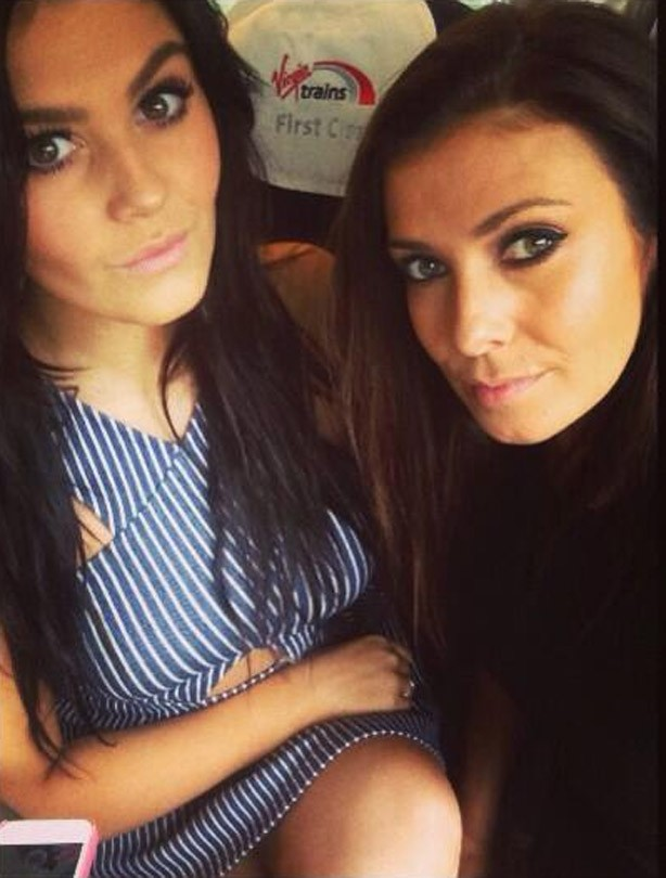 Kym Marsh and her daughter Emilie