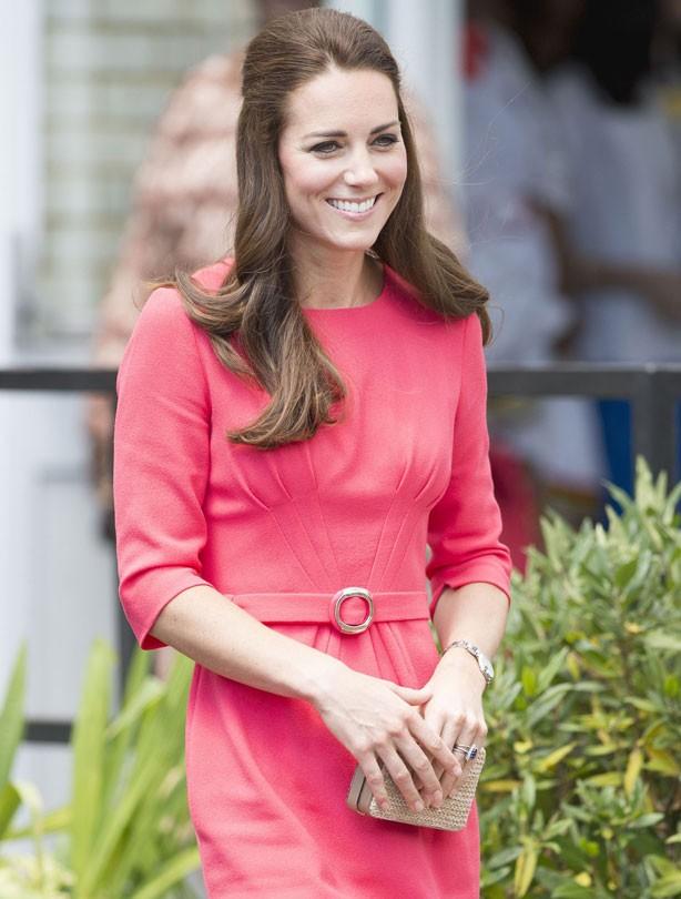 Kate Middleton, June 2014: North London school visit