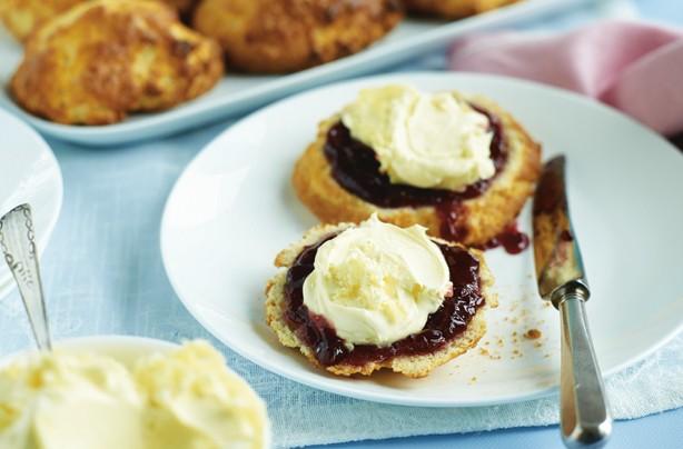 Gluten-free scoop scones