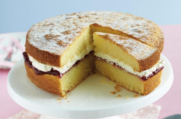 Fat free sponge cake recipe uk