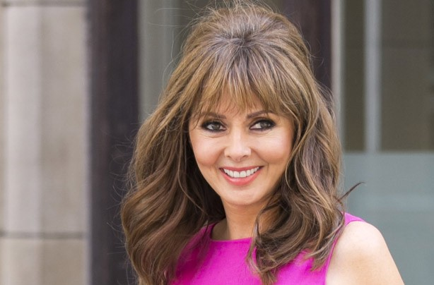 Carol Vorderman with a fringe