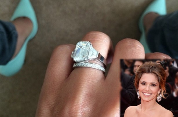 Cheryl Cole's wedding rings