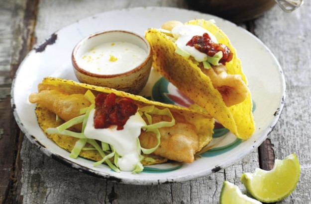 Mexican fish tacos recipe goodtoknow for Mexican fish dishes