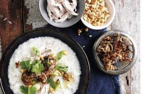 Vietnamese chicken congee