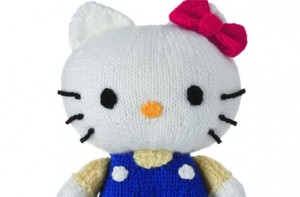 Knitting Pattern For Hello Kitty Sweater : Free knitting patterns - Knitting pattern: Hello Kitty toy - goodtoknow