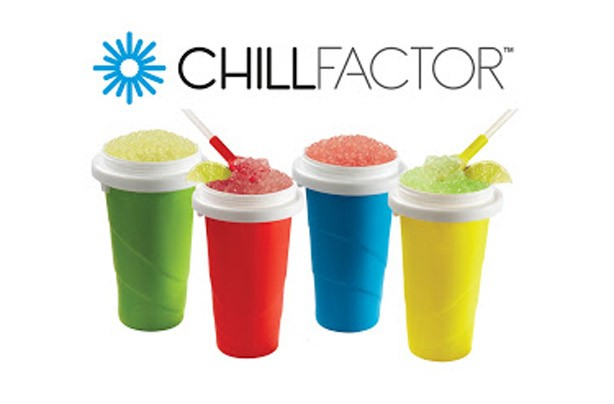 ChillFactor Slushy Maker Squeeze Cup Slushy Maker