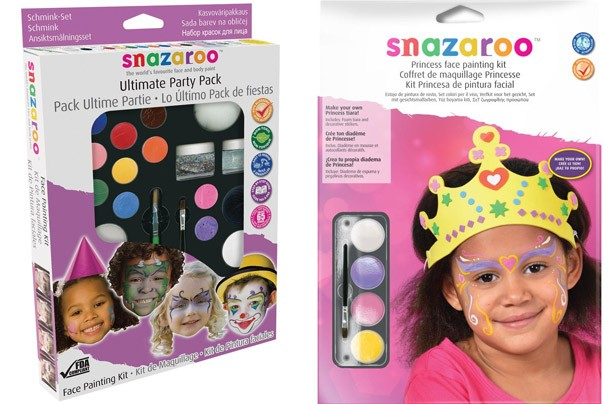 Snazaroo Princess Face Painting and Crown Set and Snazaroo Ultimate Party Pack