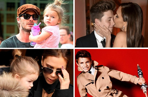 The Beckham family album