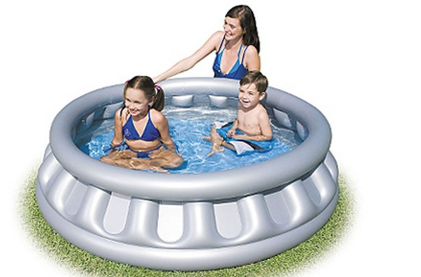 Best (and cheapest) paddling pools: Asda Spaceship paddling pool