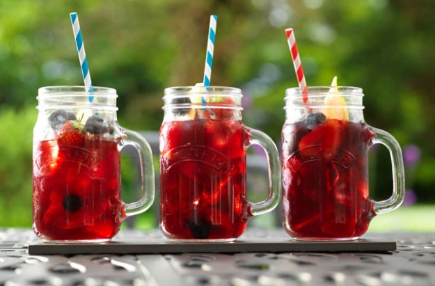 Redcurrant iced tea