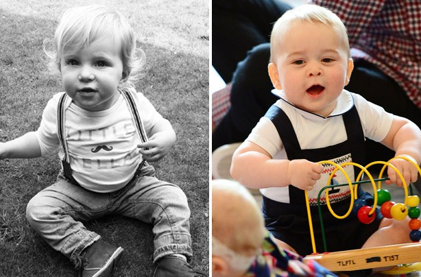 Your Prince George lookalikes