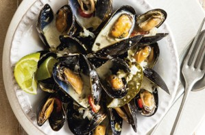 Thai-style Mussels