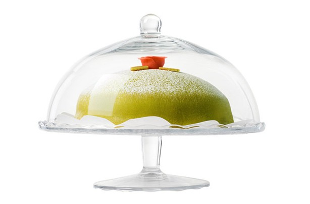 IKEA glass cake stand