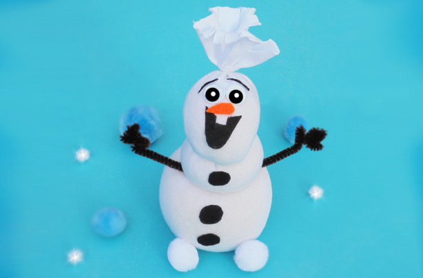 How to make a Frozen-inspired Olaf the snowman
