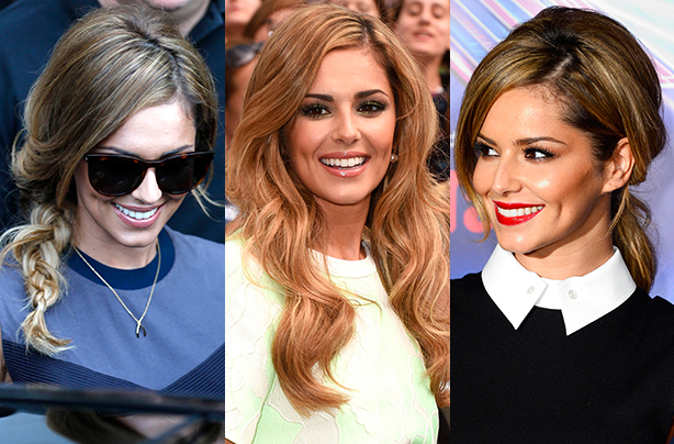 She's on a roll! Cheryl's latest (amazing) hairstyles
