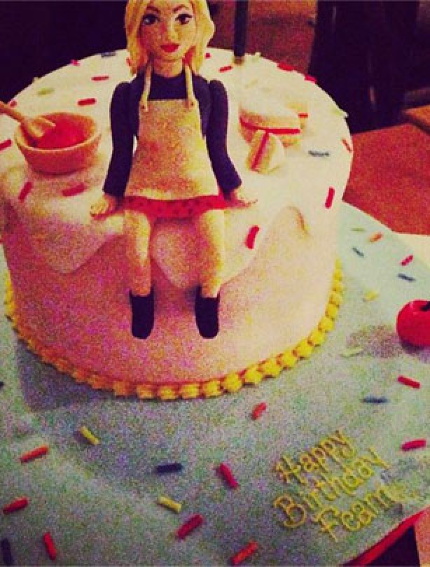 Fearne Cotton birthday cake