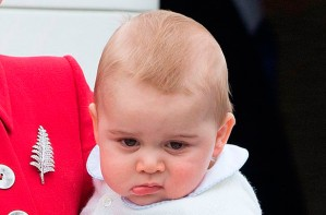 Grumpy Prince George