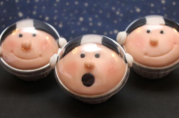 Astronaut cupcakes