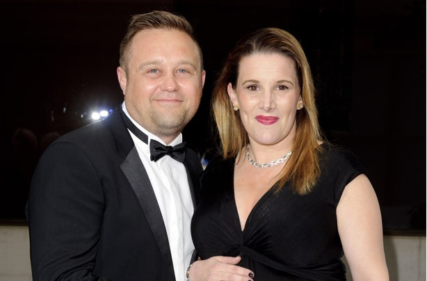 Sam Bailey and her husband