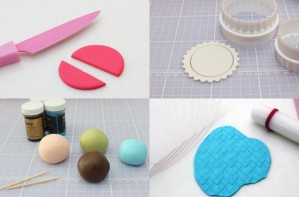 Cake decorating tools