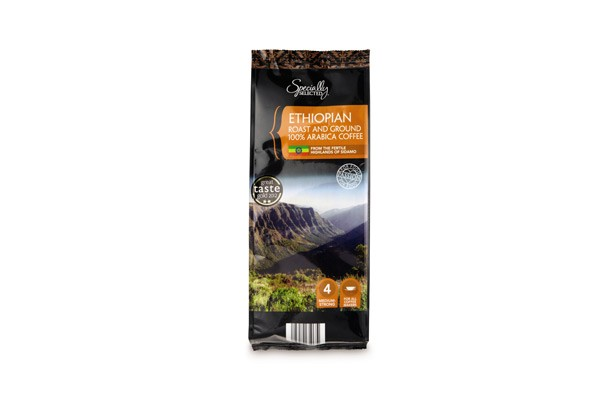 Aldi Specially Selected Ethiopian Ground Coffee
