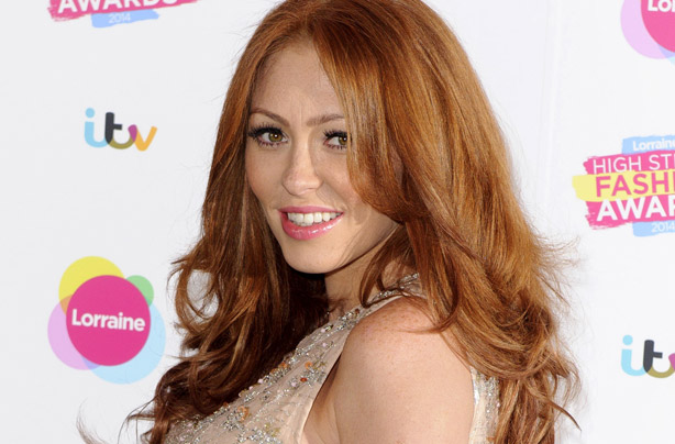 So, Natasha Hamilton is eating her placenta - and there's a picture to prove it