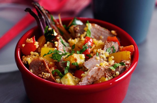 Slimming World's minted lamb couscous salad