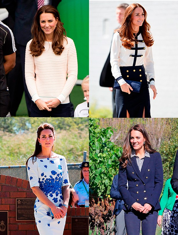 Kate Middleton split pic
