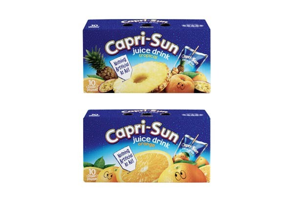 Iceland Capri Sun orange or tropical