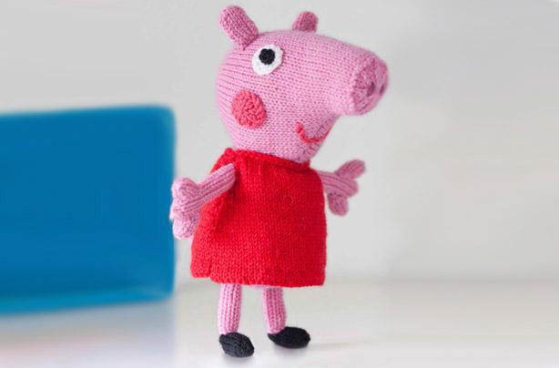 Knitting Graph Paper Uk : Peppa pig knitting pattern download hopelesslytofind cf