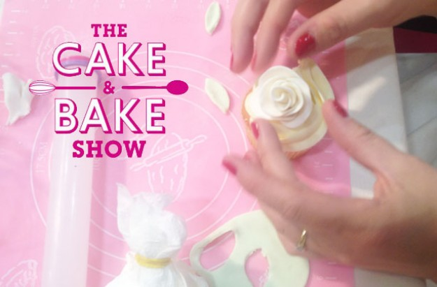 Rose cake decorations Cake & Bake Show
