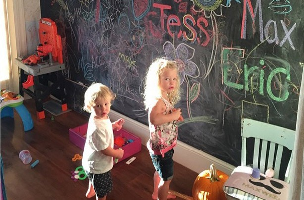 Jessica Simpson's kids Maxwell and Ace