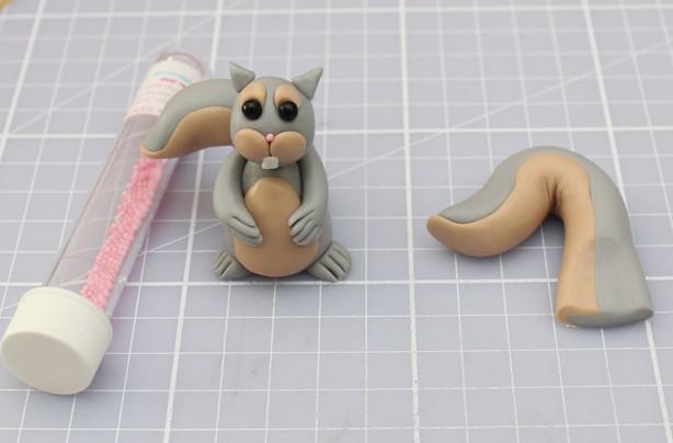 Squirrel cupcakes