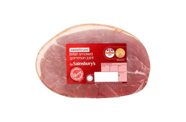 Sainsbury's Butcher's Choice Smoked Gammon Joint