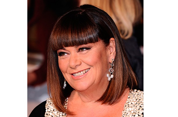 Celebrity fringes Dawn French
