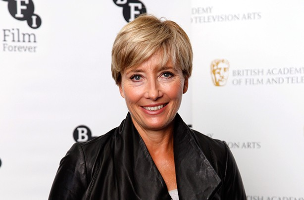 Celebrity fringes Emma Thompson