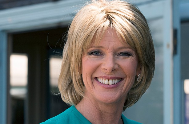 Celebrity fringes Ruth Langsford