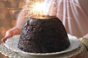 Budget Christmas pudding