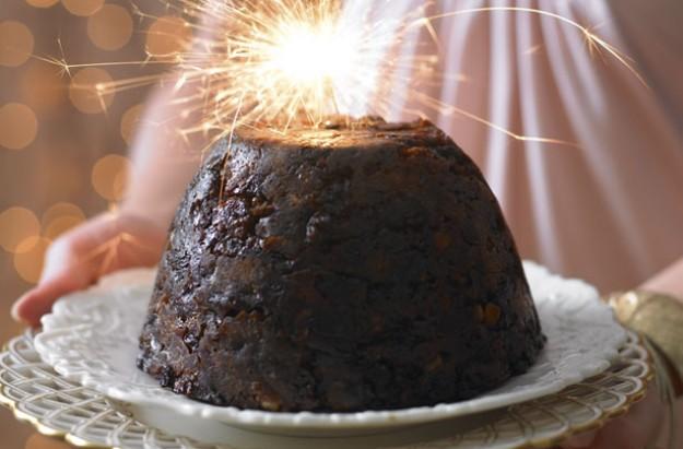 Budget Christmas pudding
