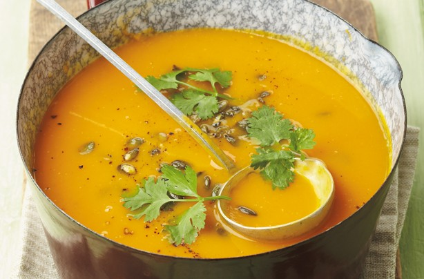 Pumpkin and orange soup recipe