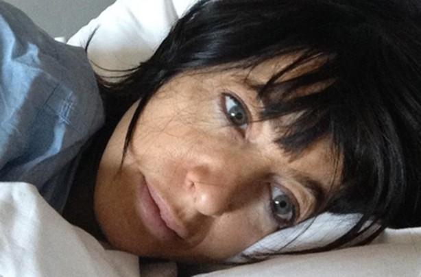 Celebrities without makeup Claudia Winkleman