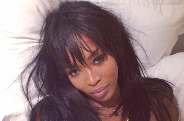 Celebrities without makeup Naomi Campbell