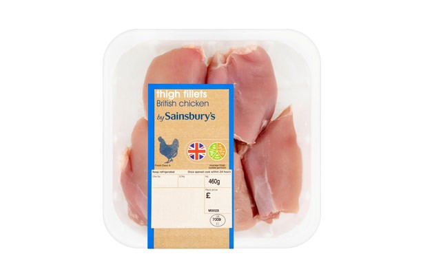 Sainsbury's British Chicken Thigh Fillets