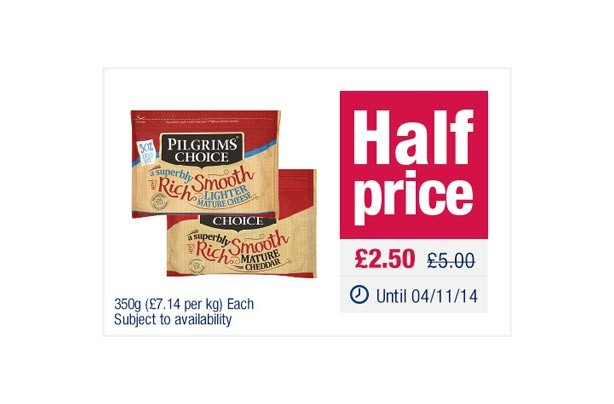 The Co-operative Pilgrims Choice Mature_Lighter Cheddar