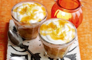 Weight Watchers toffee apple cheesecake pots