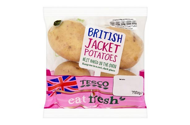 Tesco Jacket Potatoes
