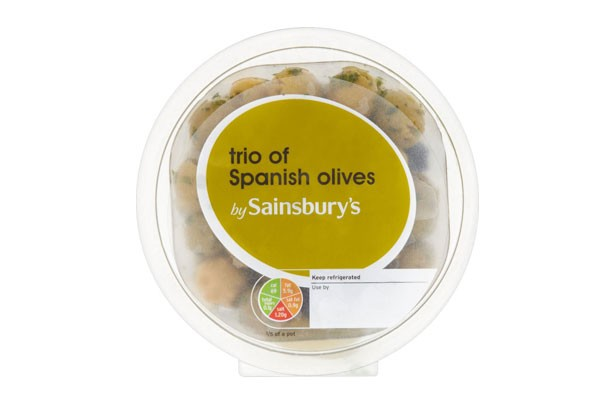 Sainsbury's Trio of Olives