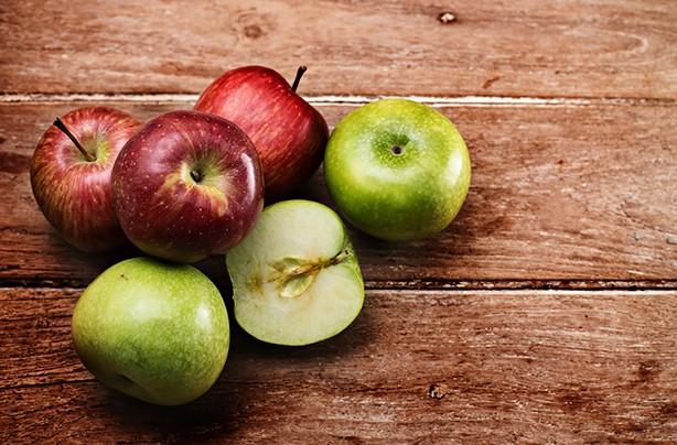 calories in fruit apples