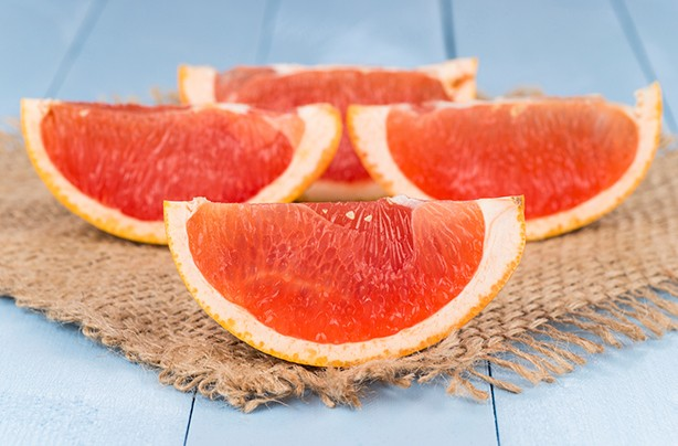 calories in fruit grapefruit